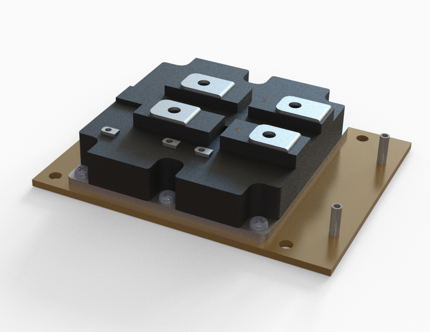 Union Cooling Tech™<br /> Liquid-cooling module for IGBT
